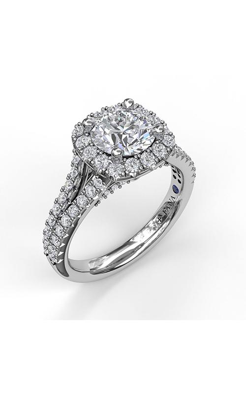 Fana Halo Engagement Ring S3891 product image