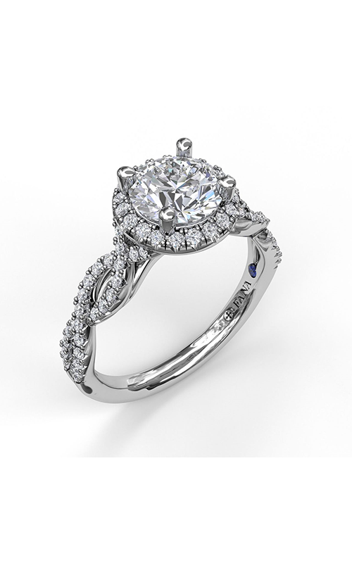 Fana Halo Engagement ring S3906 product image