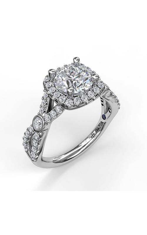 Fana Halo Engagement ring, S3943 product image