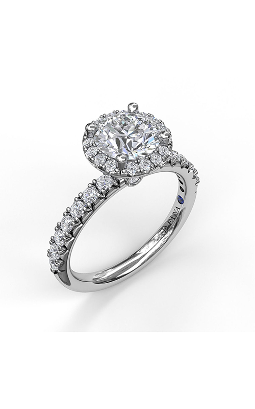Fana Halo Engagement ring S3837 product image
