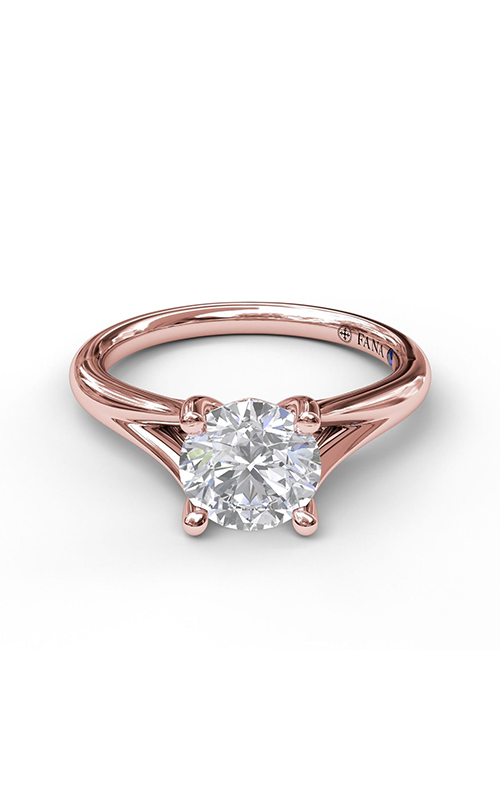 Fana Solitaire Engagement ring S3045 product image