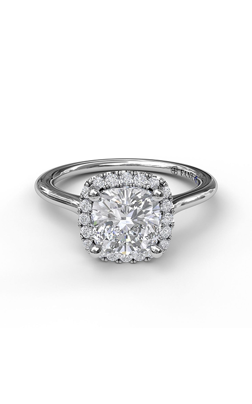 Fana Halo Engagement ring S3044 product image
