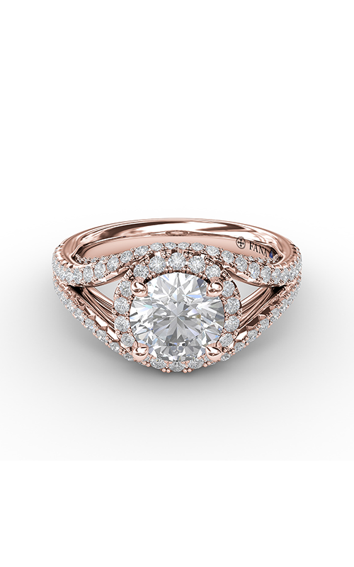 Fana Halo Engagement ring S3090 product image