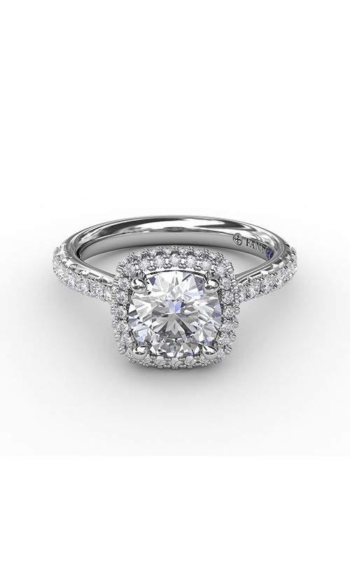Fana Halo Engagement ring S3179 product image