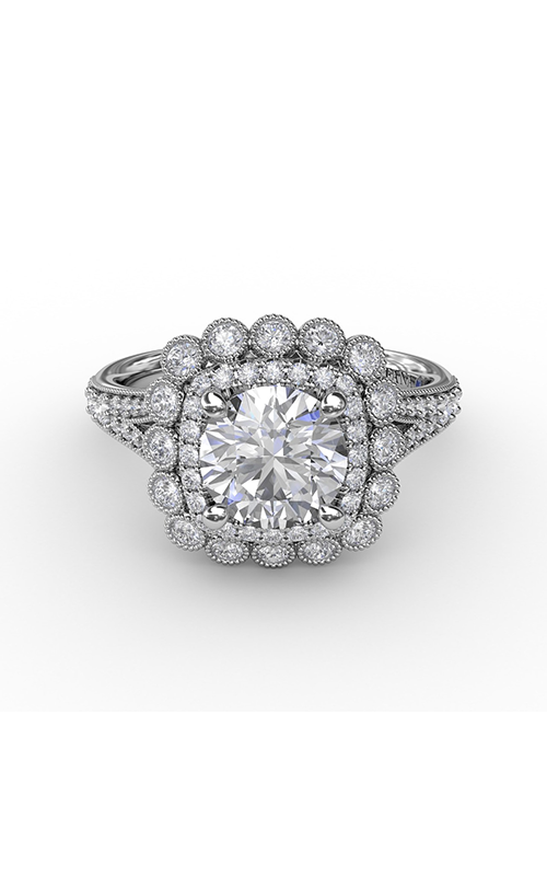 Fana Halo Engagement ring S3188 product image