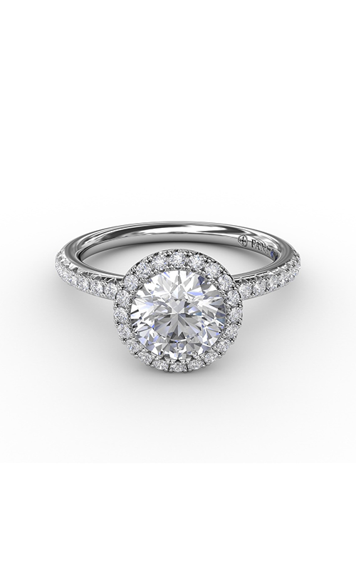 Fana Halo Engagement ring S3191 product image