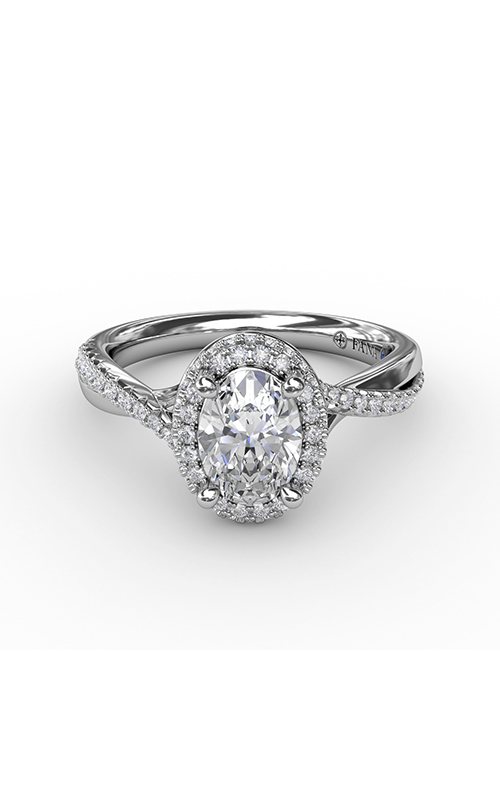 Fana Halo Engagement ring S3195 product image