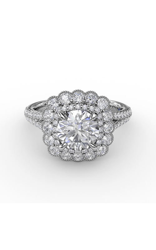 Fana Halo Engagement Ring S3202 product image