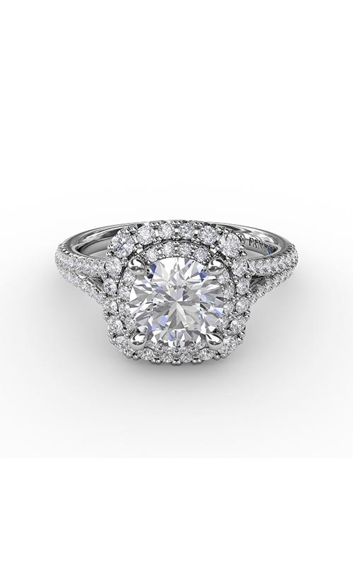 Fana Halo Engagement Ring S3215 product image