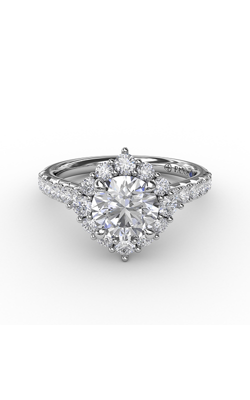 Fana Halo Engagement ring S3232 product image
