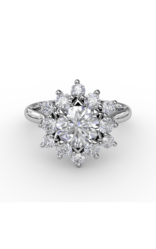 Fana Halo Engagement ring S3233 product image