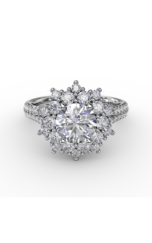 Fana Halo Engagement ring S3234 product image