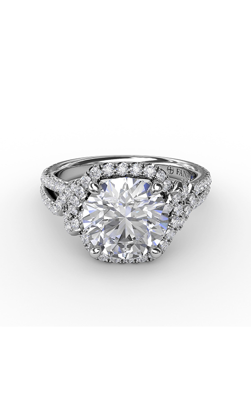 Fana Halo Engagement ring S3268 product image