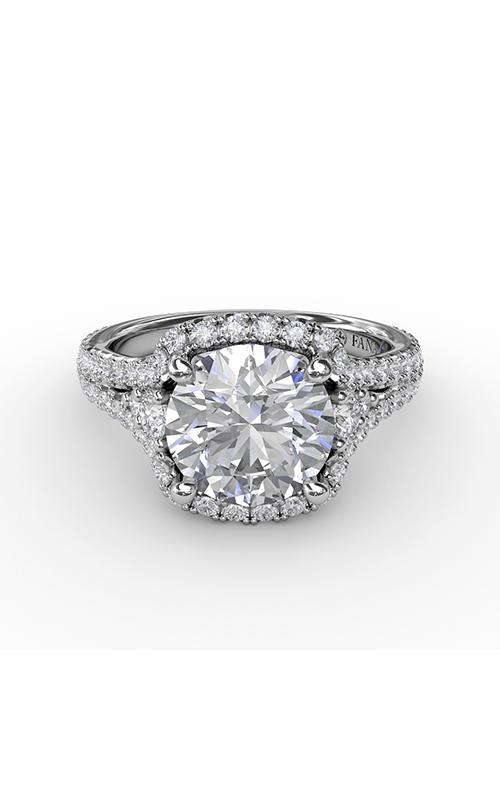 Fana Halo Engagement ring S3270 product image