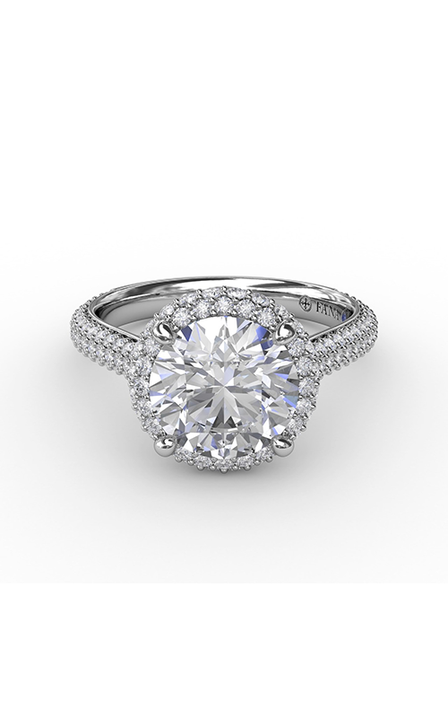 Fana Halo Engagement ring S3276 product image
