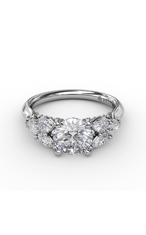 Fana Three Stone Engagement ring S3209 product image