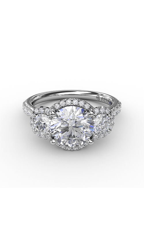 Fana Three Stone Engagement ring S3223 product image