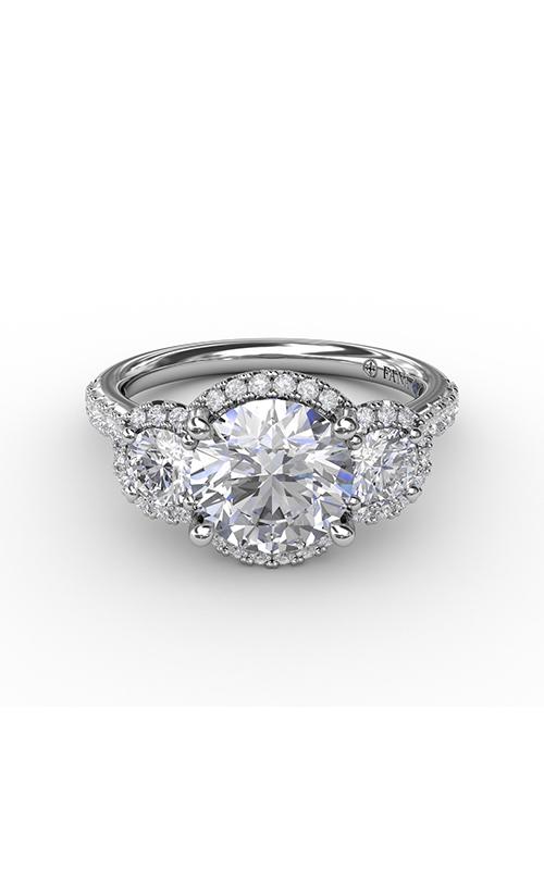 Fana Three Stone Engagement Ring S3223 product image