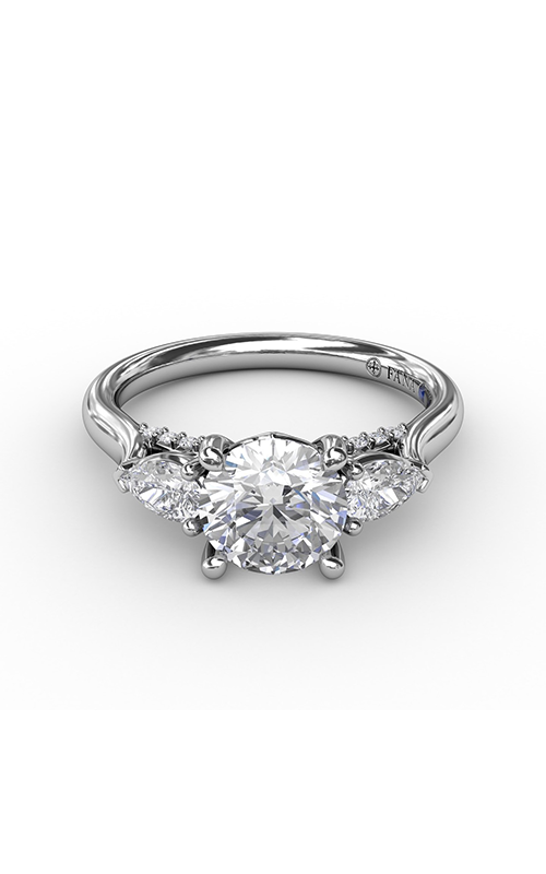 Fana Three Stone Engagement ring S3224 product image