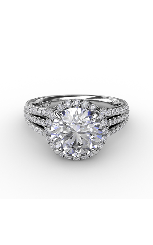 Fana Halo Engagement ring S3305 product image