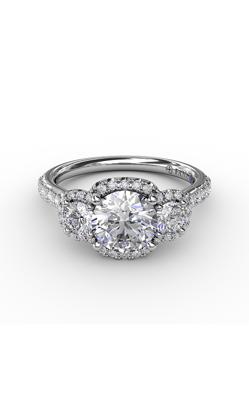 Fana Three Stone Engagement ring S3314 product image
