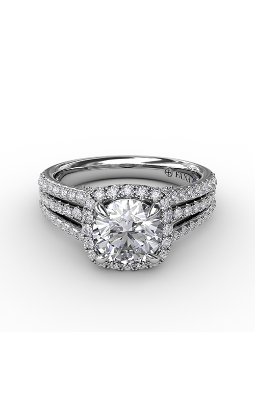 Fana Halo Engagement Ring S3315 product image