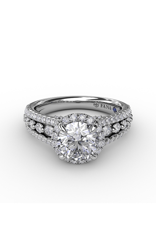 Fana Halo Engagement ring S3317 product image