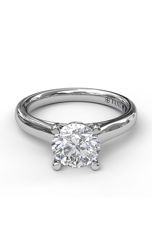 Fana Solitaire Engagement ring S3407 product image