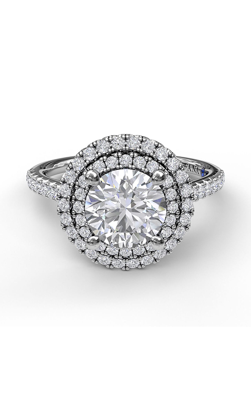 Fana Halo Engagement Ring S3511 product image