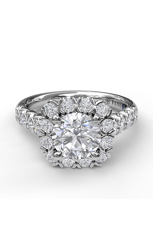 Fana Halo Engagement ring S3589 product image