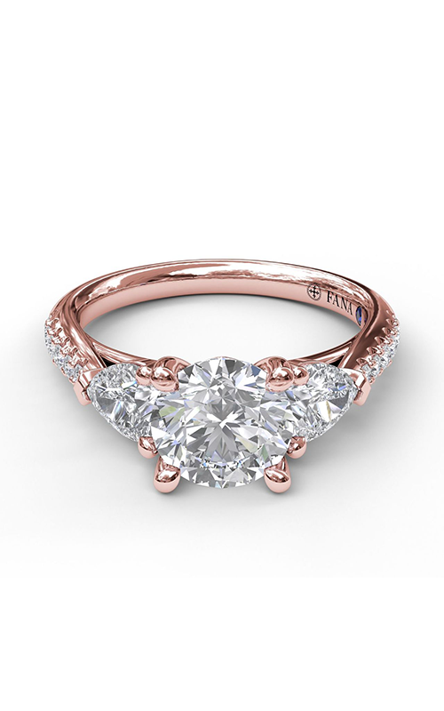Fana Three Stone Engagement ring S3756 product image