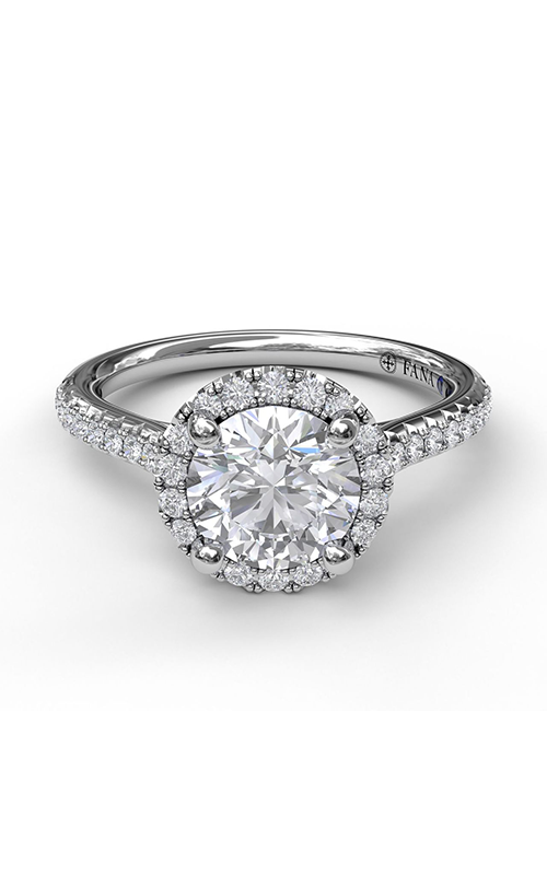 Fana Halo Engagement ring S3789 product image