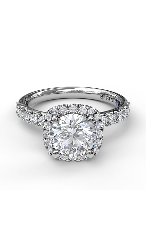 Fana Halo Engagement ring S3817 product image