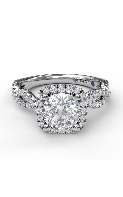 Fana Halo Engagement ring S3826 product image