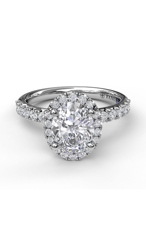 Fana Halo Engagement ring S3838 product image