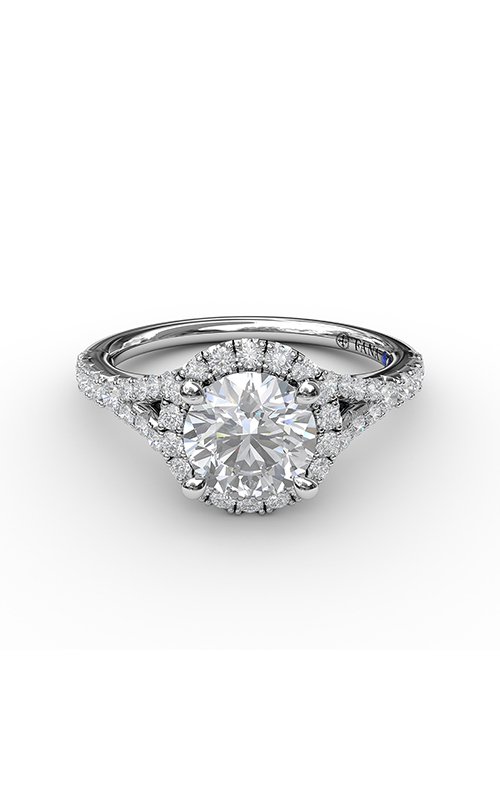Fana Halo Engagement Ring S3843 product image