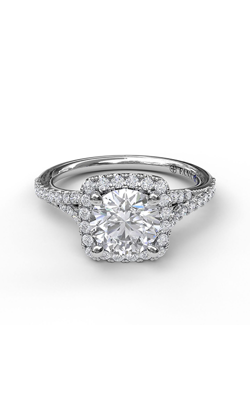 Fana Halo Engagement ring S3922 product image