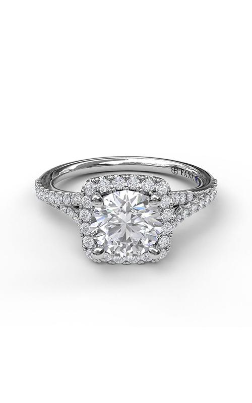 Fana Halo Engagement Ring S3922 product image