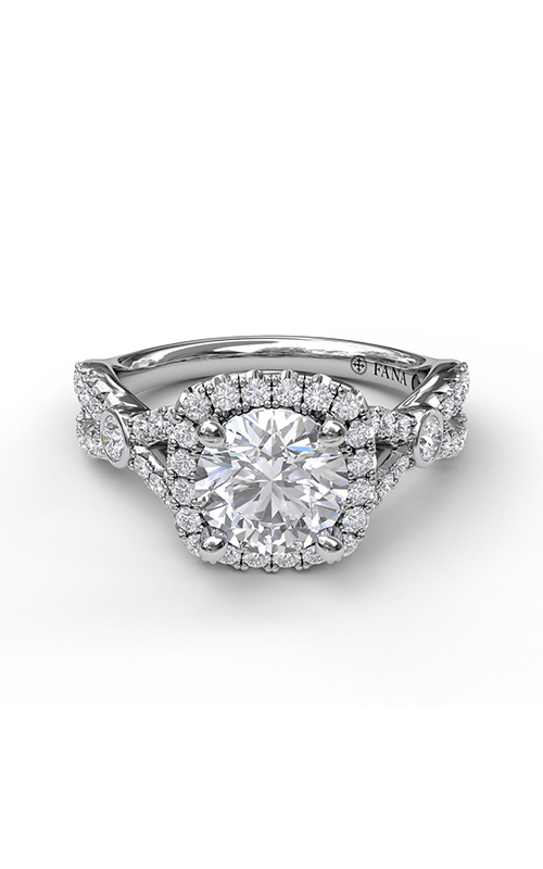 Fana Halo Engagement ring S3943 product image
