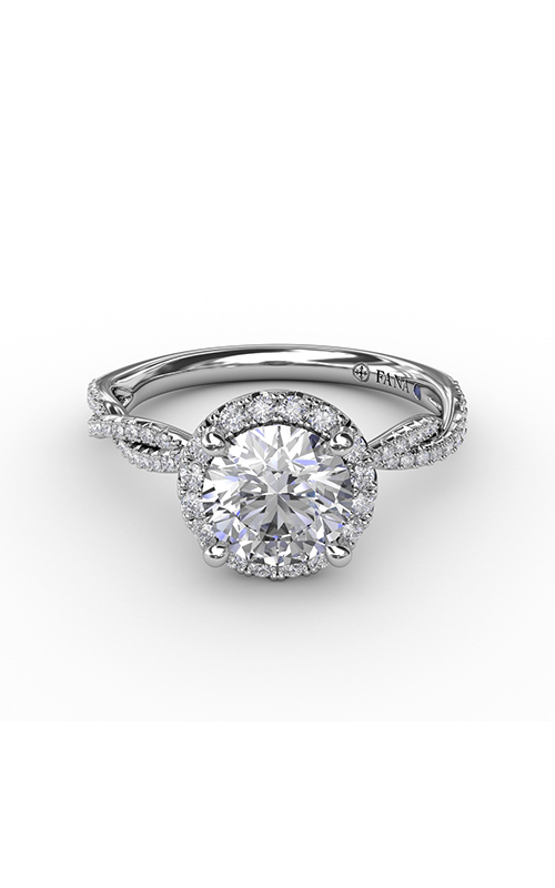 Fana Halo Engagement ring S4002 product image