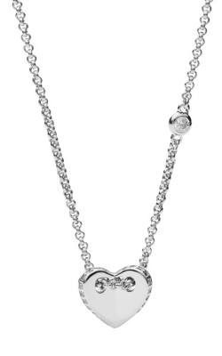 Fossil Sterling Silver Necklace JFS00425040 product image