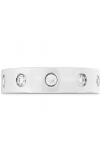 Hearts On Fire Men's Wedding Bands HBACMBF00318W-6