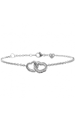 Lorelei Interlocking Diamond Heart Bracelet product image