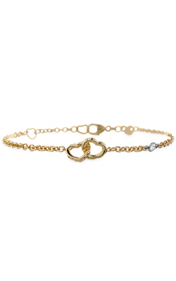 Lorelei Interlocking Heart Bracelet product image
