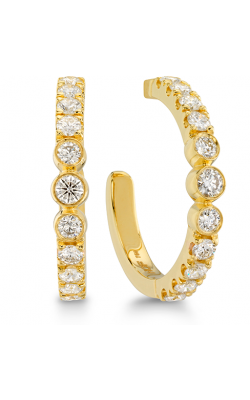 Copley Bezel Hoop Earrings product image