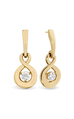 Optima Single Diamond Drop Earrings product image