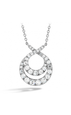 Optima Double Circle Diamond Necklace product image