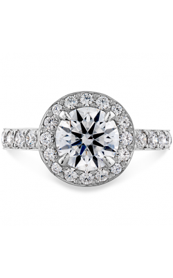 Illustrious Halo Engagement Ring-Diamond Band product image