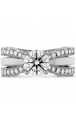 Lorelei Double Diamond Row Engagement Ring product image