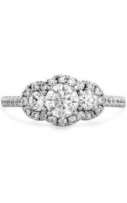 Transcend Three-stone Engagement Ring product image